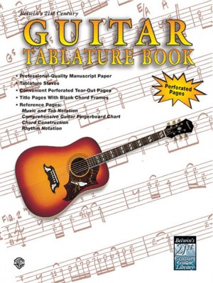 21st Century Guitar Tablature Book