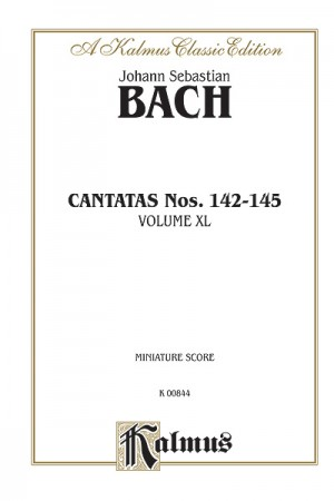 Johann Sebastian Bach: Cantatas No. 142-145