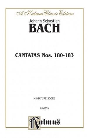 Johann Sebastian Bach: Cantatas No. 180-183
