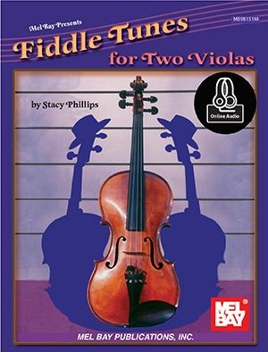 Stacy Phillips: Fiddle Tunes For Two Violas (Book/Online Audio)