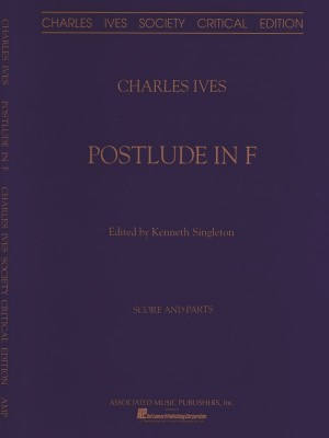Charles Ives: Postlude In F