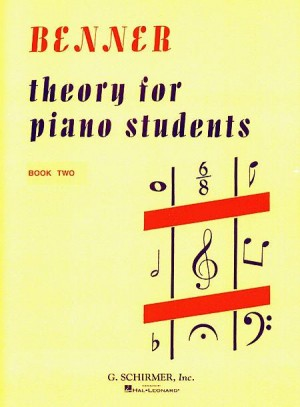 Lora Benner: Theory for Piano Students - Book 2