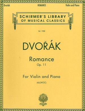 Antonin Dvorak: Romance For Violin And Piano Op.11