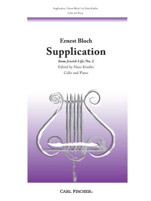 Bloch: Supplication