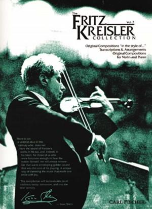 Kreisler, F: The Fritz Kreisler Collection Vol. 2