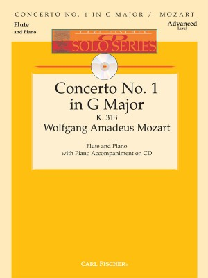 Wolfgang Amadeus Mozart: Concerto No. 1 in G Major, K. 313