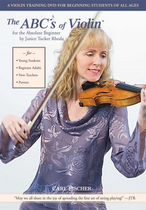 Rhoda: The ABCs of Violin Vol.1: For the absolute Beginner Product Image