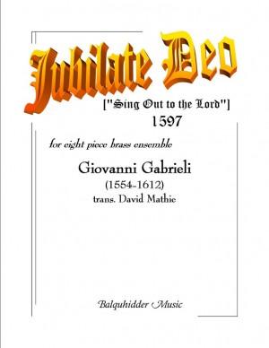 Giovanni Gabrieli: Jubilate Deo