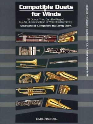 Larry Clark: Compatible Duets For Winds - Clarinet/Trumpet/T.C. Euphonium/Tenor Saxophone