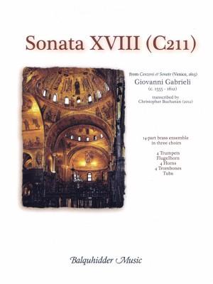 Giovanni Gabrieli: Sonata XVIII (C211)