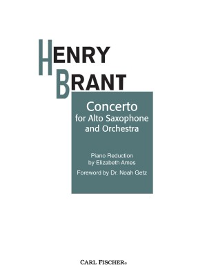Henry Brant: Concerto for Alto Sax and Orchestra