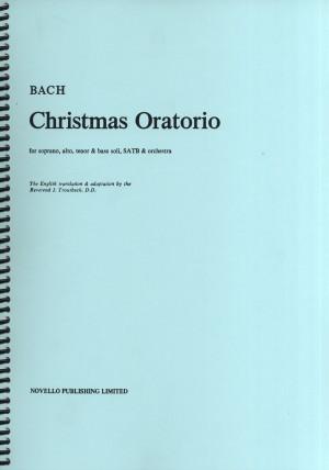 Johann Sebastian Bach: Christmas Oratorio Vocal Score (Troutbeck)
