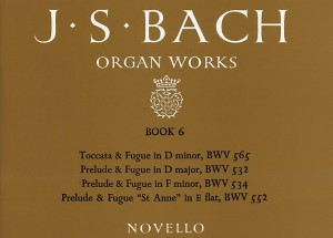Johann Sebastian Bach: Organ Works Book 6