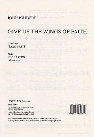 John Joubert: Give Us The Wings Of Faith (Edgbaston)