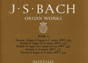 Johann Sebastian Bach: Organ Works Book 9