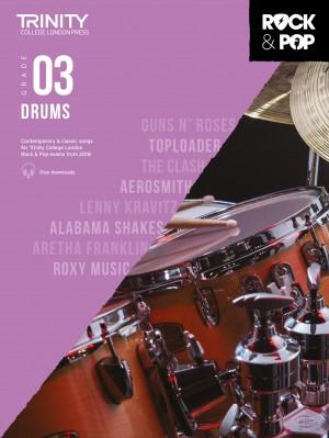 Trinity Rock & Pop 2018 Drums Grade 3