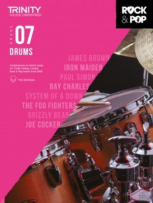 Trinity Rock & Pop 2018 Drums Grade 7