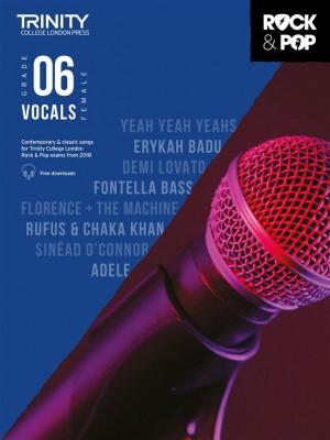Trinity Rock & Pop 2018 Vocals Grade 6 (female voice)