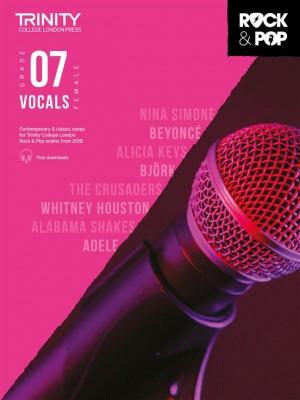 Trinity Rock & Pop 2018 Vocals Grade 7 (female voice)