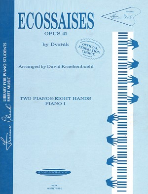 Antonin Dvorák: Ecossaises, Opus 41