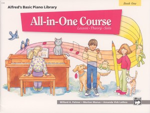 Willard A. Palmer_Morton Manus: Alfred's Basic All-in-One Course, Book 1