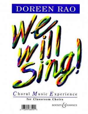 Rao, D: We Will Sing!