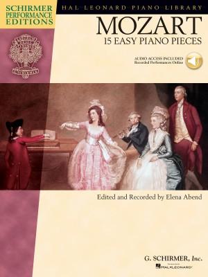 W.A. Mozart: 15 Easy Piano Pieces