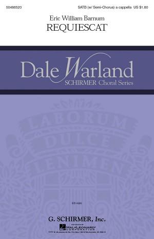 Eric William Barnum: Requiescat
