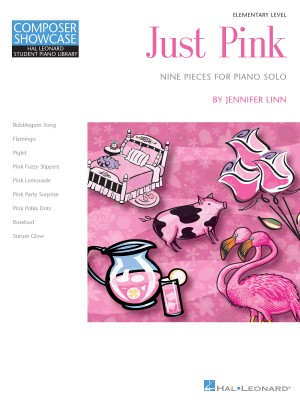 Jennifer Linn: Just Pink - 9 Pieces For Solo Piano