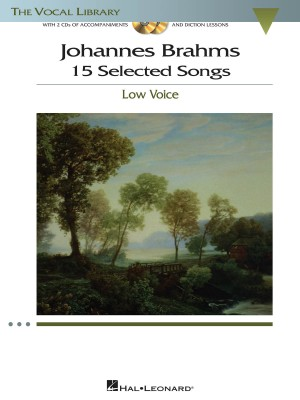 Johannes Brahms: 15 Selected Songs - Low Voice