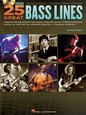 25 Great Bass Lines Product Image