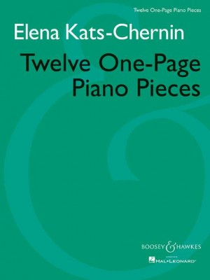 Kats-Chernin, E: Twelve One-Page Piano Pieces