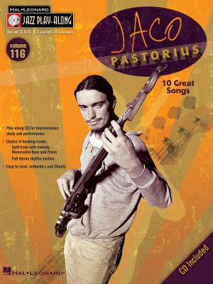 Jaco Pastorius Jazz Play-Along Vol.116