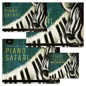 Piano Safari: Level 2 Pack
