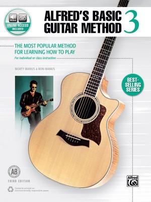 Alfred's Basic Guitar Method 3 (Third Edition)