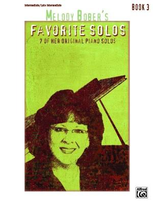 Melody Bober: Melody Bober's Favorite Solos, Book 3