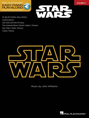 Star Wars Easy Piano CD Play-Along Volume 31