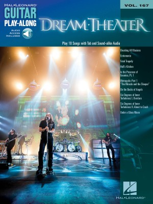 Dream Theater Guitar Play-Along Vol.167