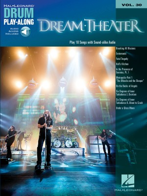 Dream Theater Drum Play-Along Volume 30