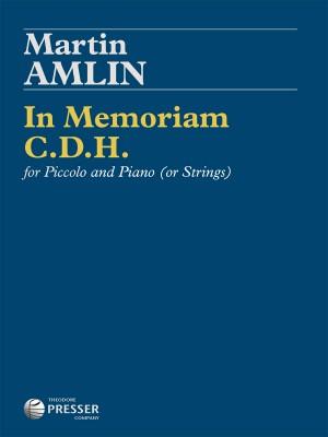 Amlin, M: In Memoriam C.D.H.