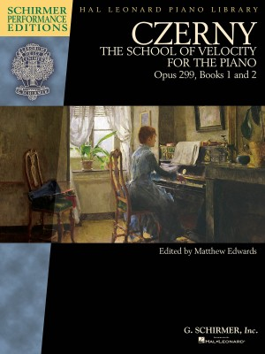 Carl Czerny: The School Of Velocity For The Piano, Op.299, Books 1 And 2 (Schirmer Performance Edition)