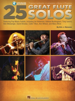 Eric J. Morones: 25 Great Flute Solos Product Image