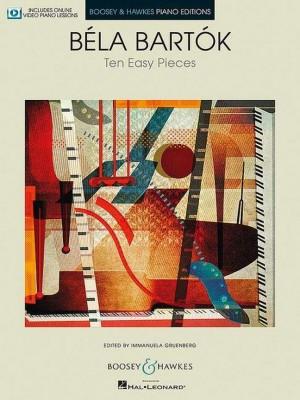 Bartok, B: Ten Easy Pieces Product Image