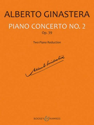 Ginastera, A: Piano Concerto No. 2 op. 39
