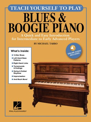 Michael Tarro: Teach Yourself To Play Blues & Boogie Piano Product Image