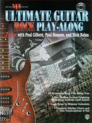 Ultimate Play-Along Guitar Trax: Rock