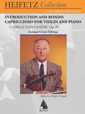 Camille Saint-Saëns: Introduction and Rondo Capriccioso, Op. 28