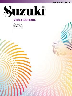Suzuki Viola School Viola Part, Volume 8