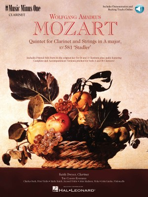 Wolfgang Amadeus Mozart: Mozart Quintet in A, KV581