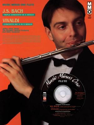 Music Minus One - J.S. Bach: 'Triple' Concerto In A Minor BWV1044&#x3B; Antonio Vivaldi: Concerto In D Minor Op.8 No.9 RV236